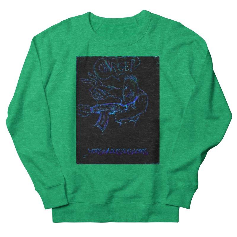 Alien Foot Soldier2 Men's French Terry Sweatshirt by Monstrous Customs