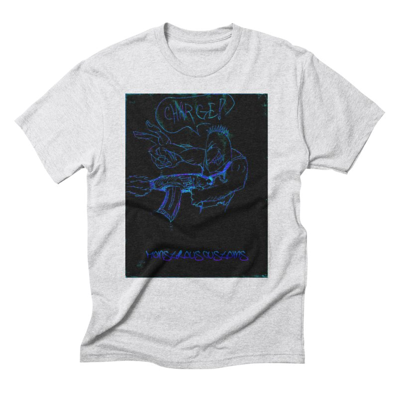 Alien Foot Soldier2 Men's Triblend T-Shirt by Monstrous Customs