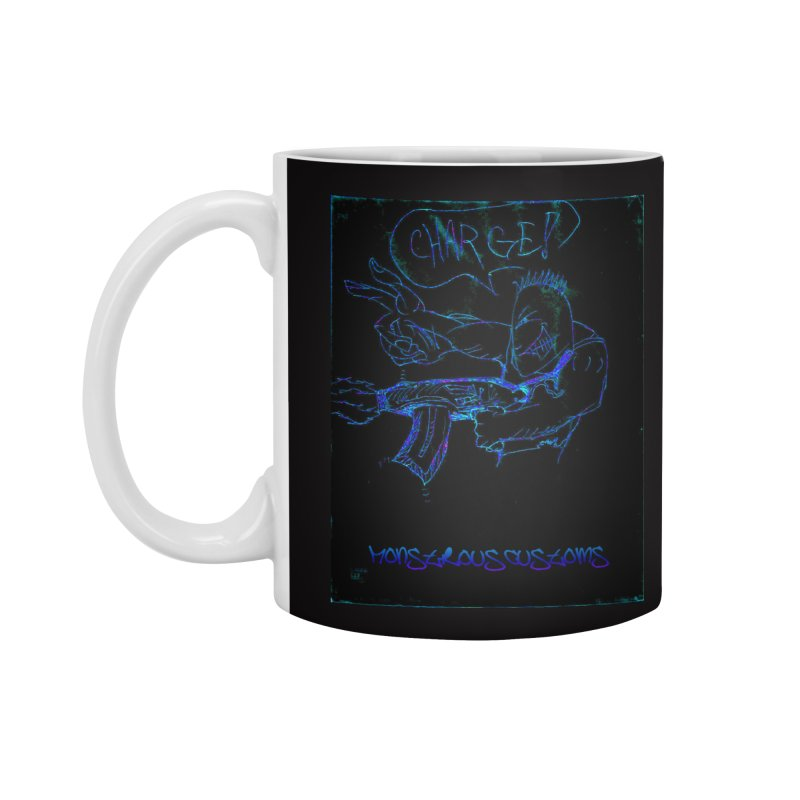 Alien Foot Soldier2 Accessories Mug by Monstrous Customs