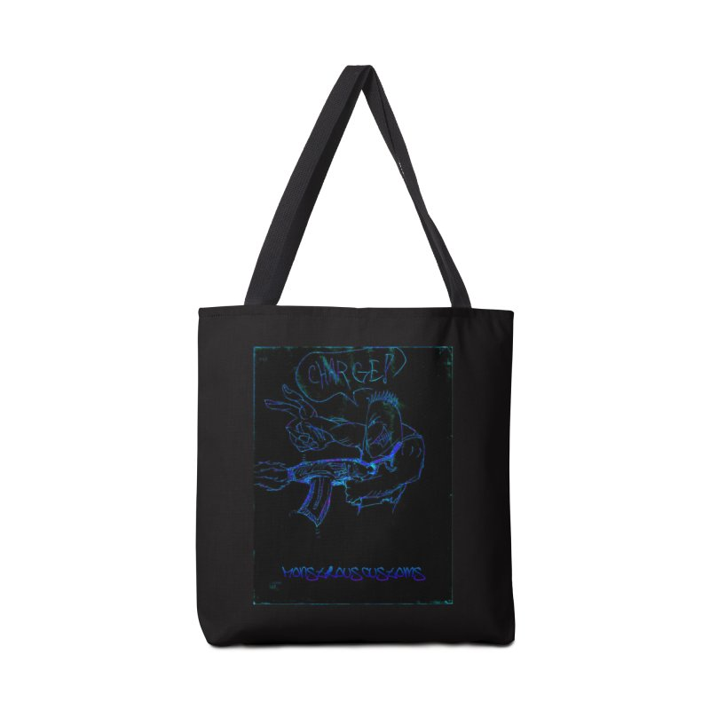 Alien Foot Soldier2 Accessories Tote Bag Bag by Monstrous Customs