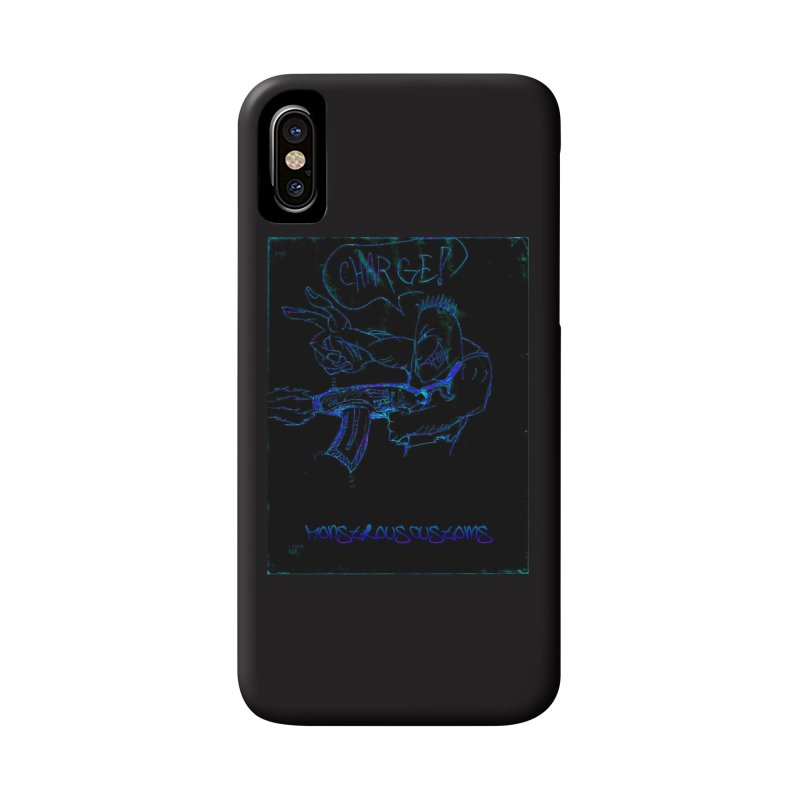 Alien Foot Soldier2 Accessories Phone Case by Monstrous Customs