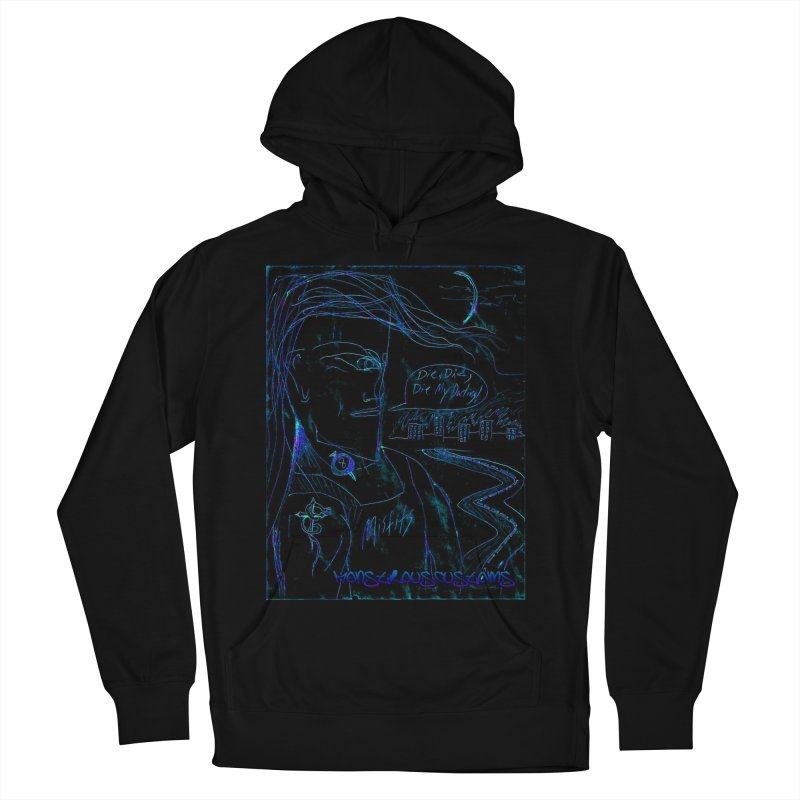 Misfits Maniac2 Women's French Terry Pullover Hoody by Monstrous Customs