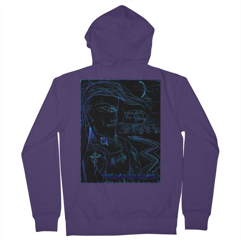 Misfits Maniac2 Women's French Terry Zip-Up Hoody by Monstrous Customs