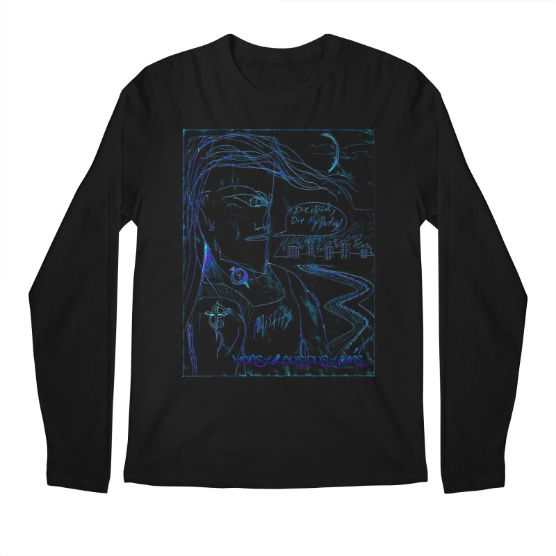 Misfits Maniac2 Men's Regular Longsleeve T-Shirt by Monstrous Customs