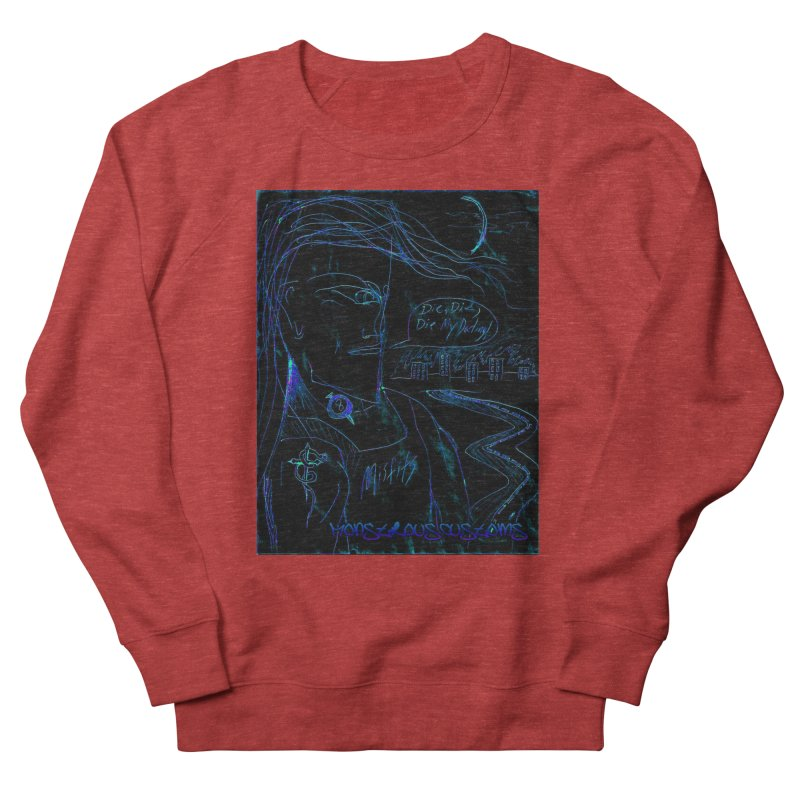 Misfits Maniac2 Women's French Terry Sweatshirt by Monstrous Customs