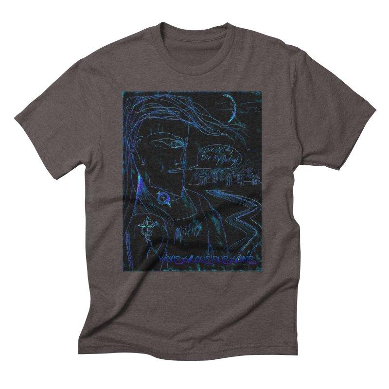 Misfits Maniac2 Men's Triblend T-Shirt by Monstrous Customs