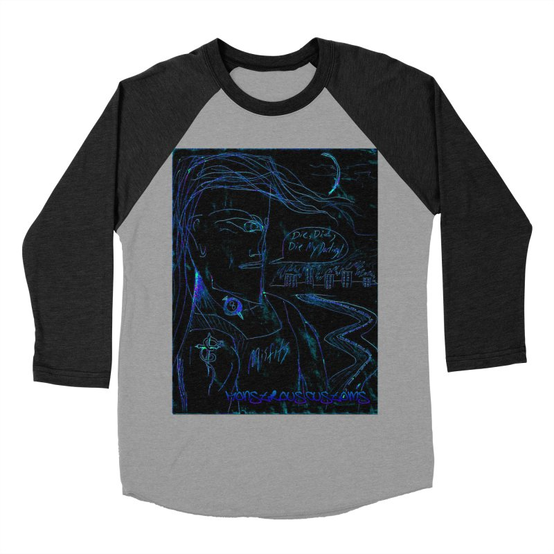 Misfits Maniac2 Women's Baseball Triblend T-Shirt by Monstrous Customs