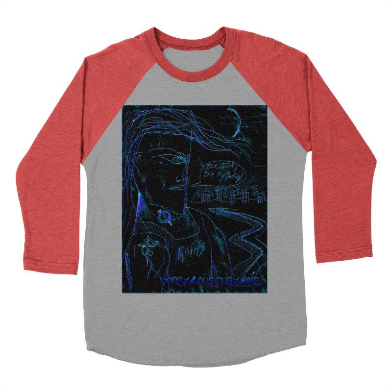 Misfits Maniac2 Men's Baseball Triblend T-Shirt by Monstrous Customs
