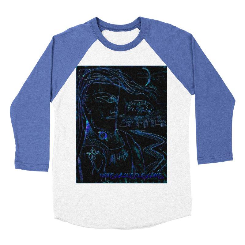 Misfits Maniac2 Men's Baseball Triblend Longsleeve T-Shirt by Monstrous Customs