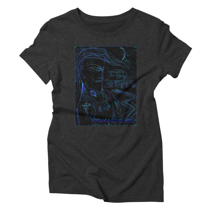 Misfits Maniac2 Women's Triblend T-shirt by Monstrous Customs