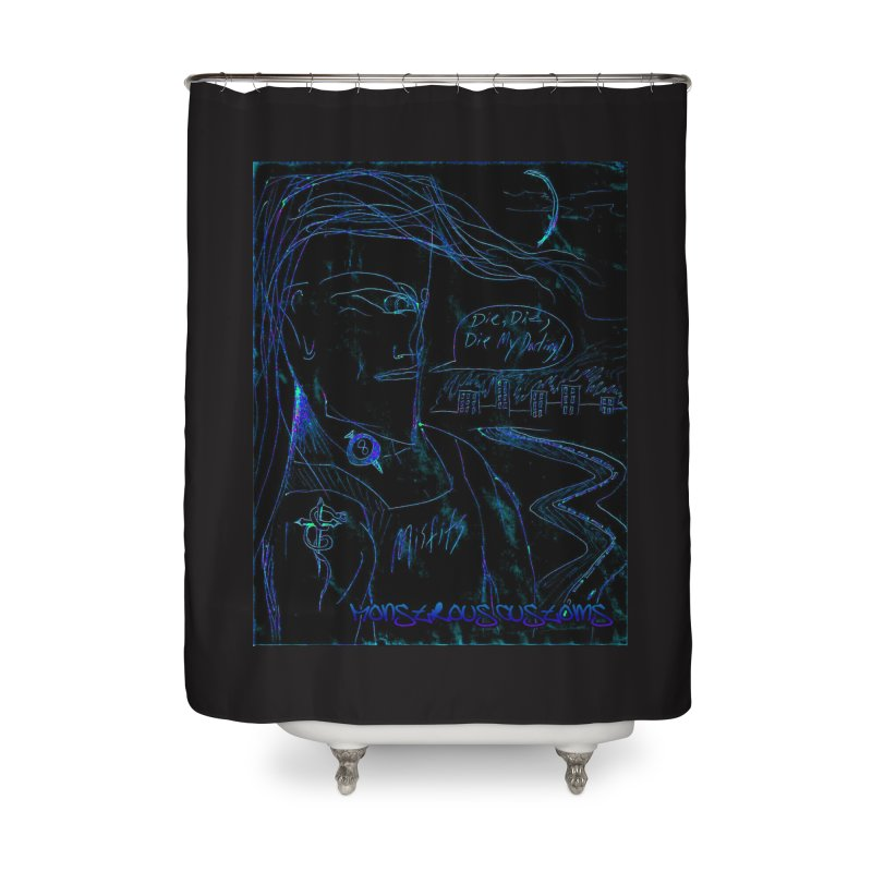 Misfits Maniac2 Home Shower Curtain by Monstrous Customs