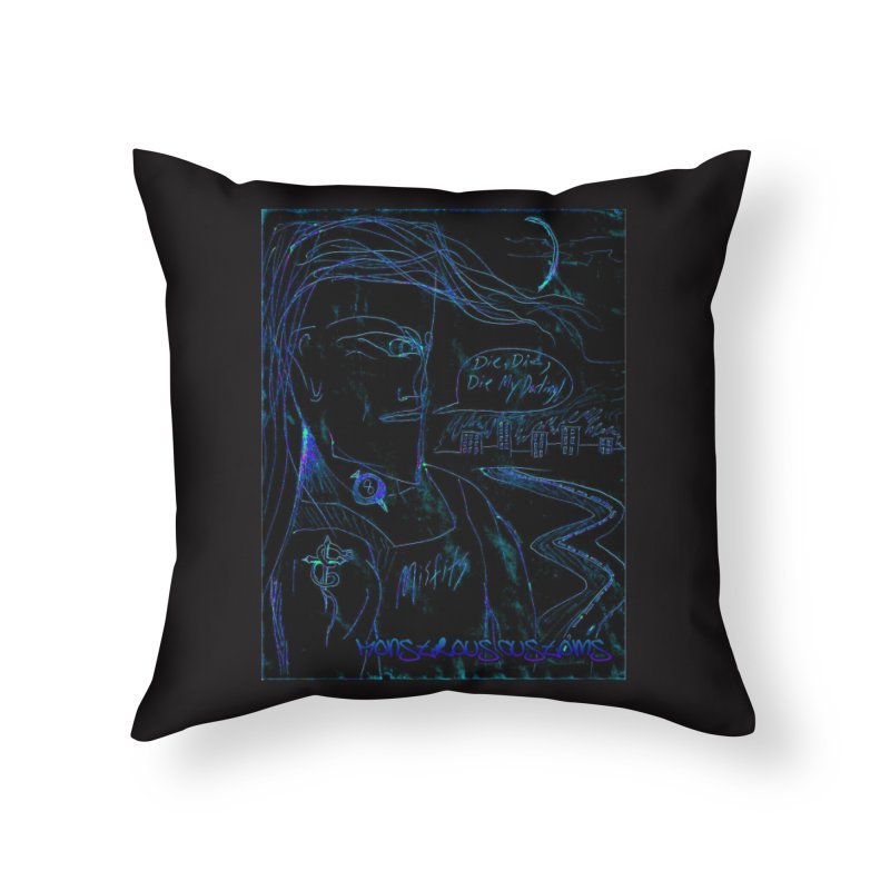Misfits Maniac2 Home Throw Pillow by Monstrous Customs