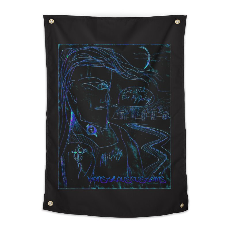 Misfits Maniac2 Home Tapestry by Monstrous Customs