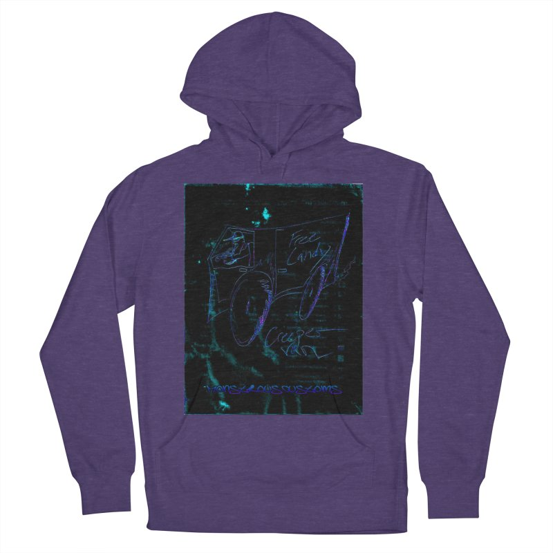 The Creeper2 Women's French Terry Pullover Hoody by Monstrous Customs