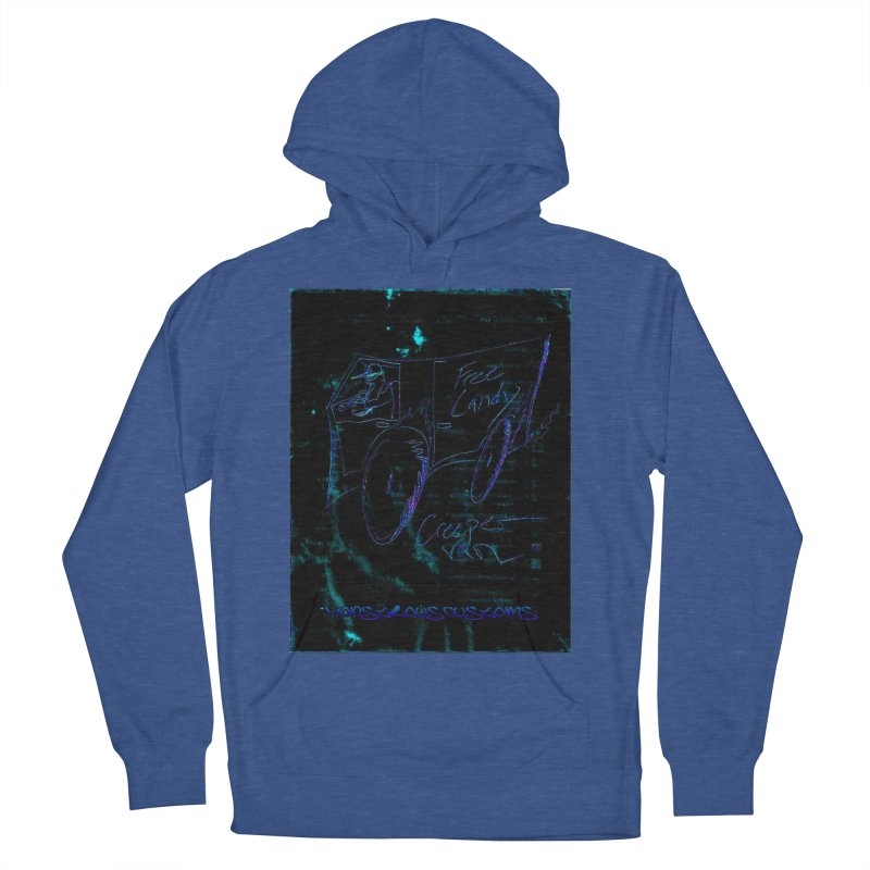 The Creeper2 Men's French Terry Pullover Hoody by Monstrous Customs