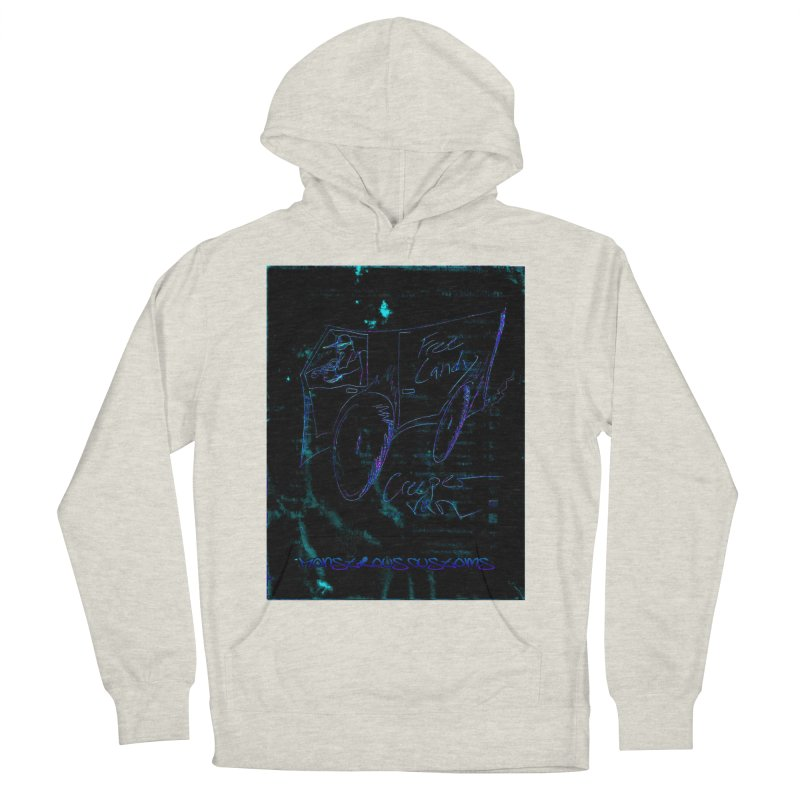 The Creeper2 Men's Pullover Hoody by Monstrous Customs