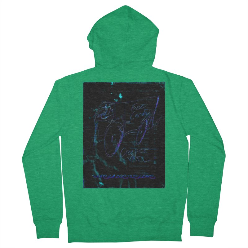 The Creeper2 Men's French Terry Zip-Up Hoody by Monstrous Customs