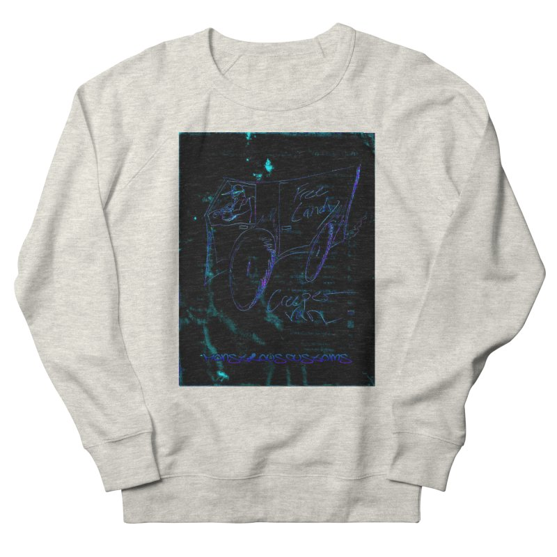 The Creeper2 Women's French Terry Sweatshirt by Monstrous Customs