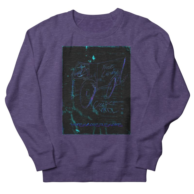 The Creeper2 Men's French Terry Sweatshirt by Monstrous Customs