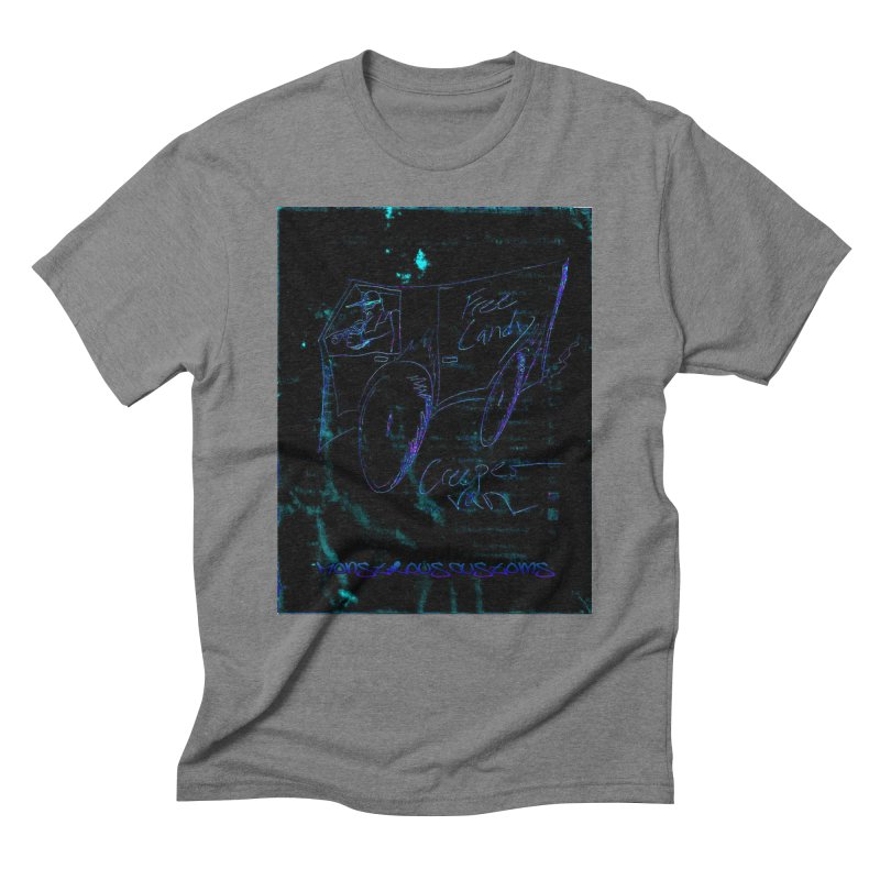 The Creeper2 Men's Triblend T-Shirt by Monstrous Customs