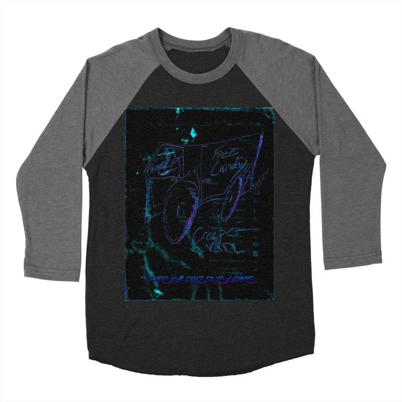 The Creeper2 Men's Baseball Triblend T-Shirt by Monstrous Customs