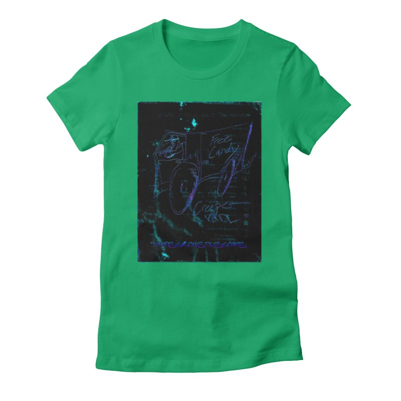 The Creeper2 Women's Fitted T-Shirt by Monstrous Customs