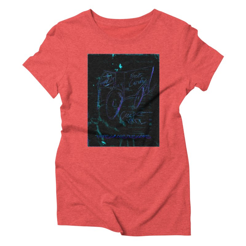 The Creeper2 Women's Triblend T-Shirt by Monstrous Customs