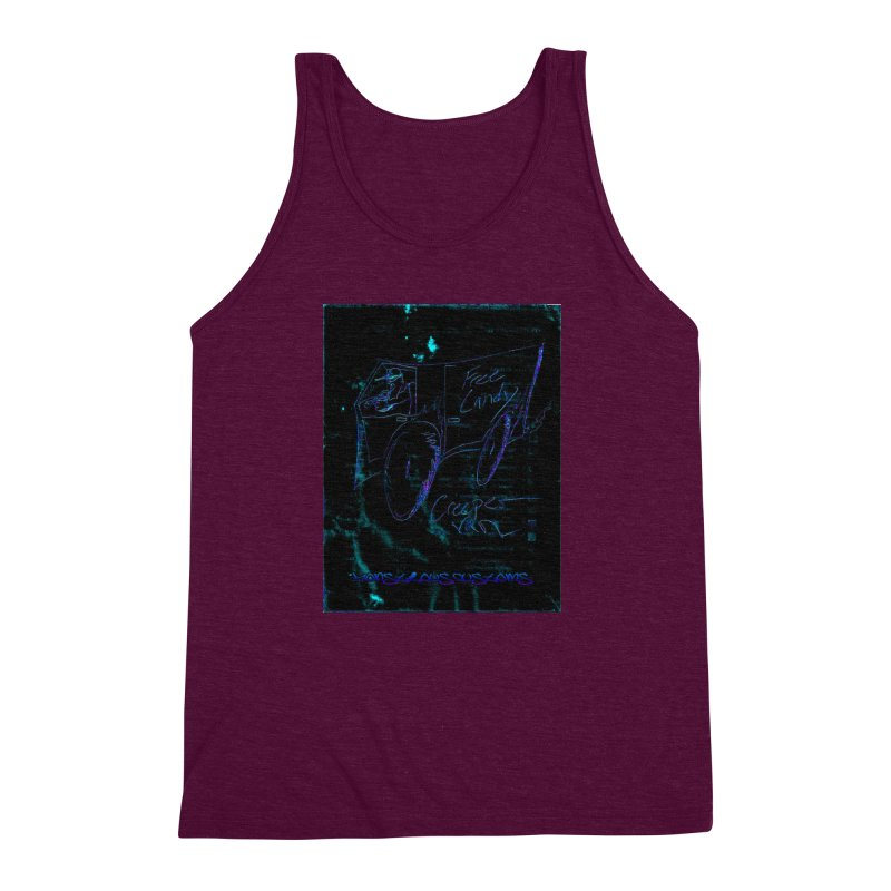 The Creeper2 Men's Triblend Tank by Monstrous Customs
