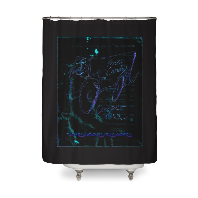 The Creeper2 Home Shower Curtain by Monstrous Customs