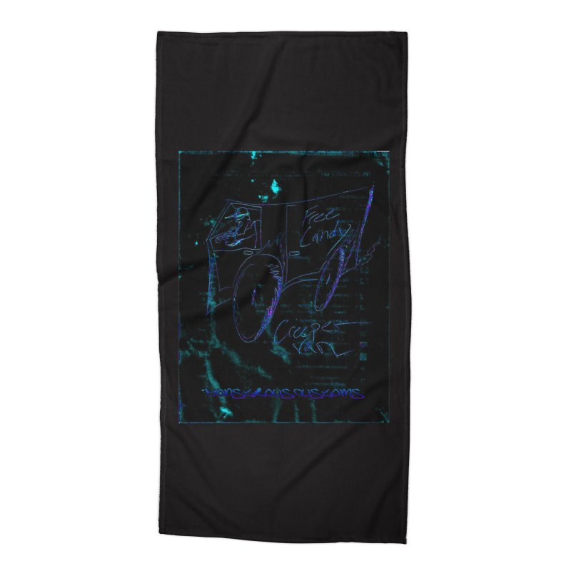 The Creeper2 Accessories Beach Towel by Monstrous Customs