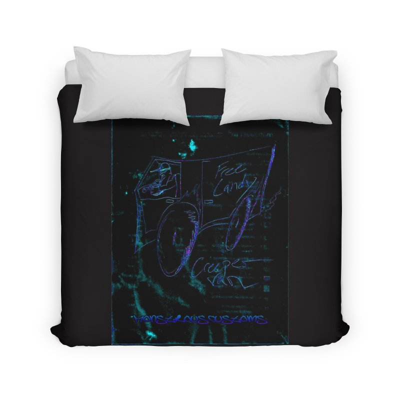 The Creeper2 Home Duvet by Monstrous Customs