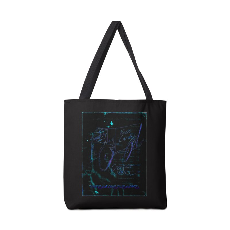 The Creeper2 Accessories Tote Bag Bag by Monstrous Customs