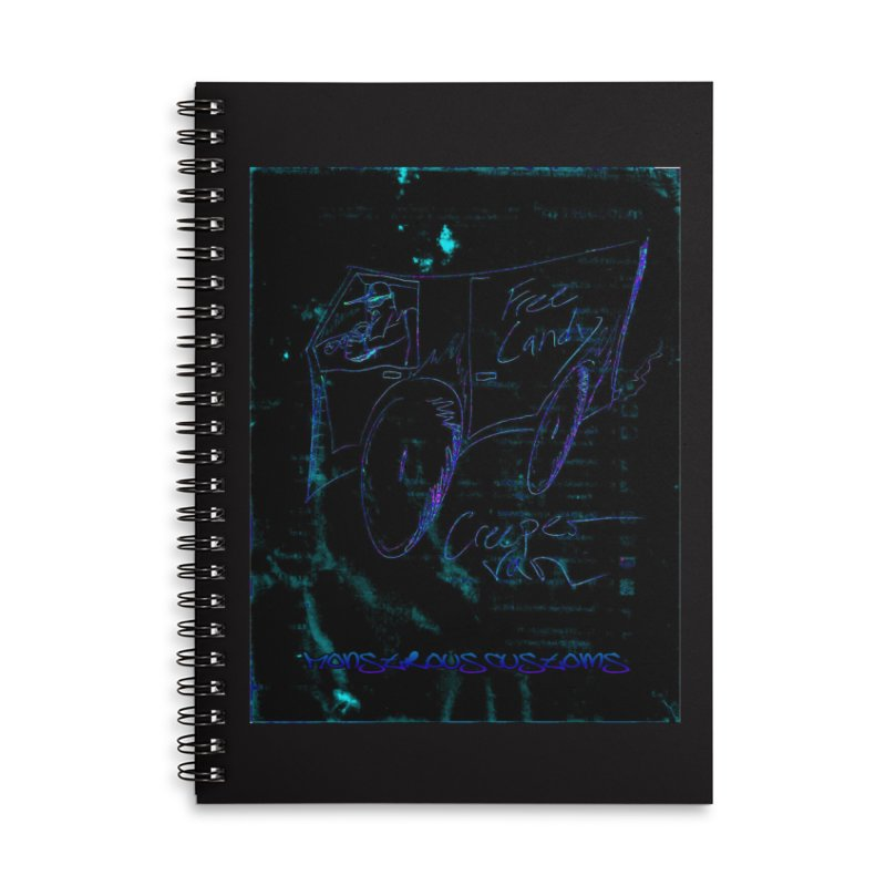 The Creeper2 Accessories Lined Spiral Notebook by Monstrous Customs