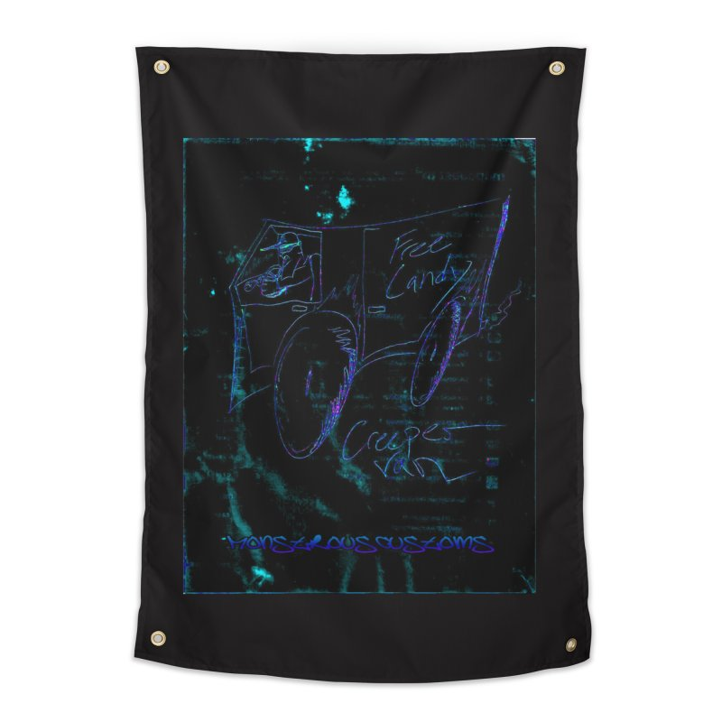 The Creeper2 Home Tapestry by Monstrous Customs