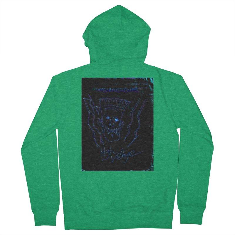 High Voltage Frank2 Men's Zip-Up Hoody by Monstrous Customs