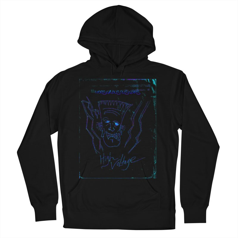 High Voltage Frank2 Women's Pullover Hoody by Monstrous Customs