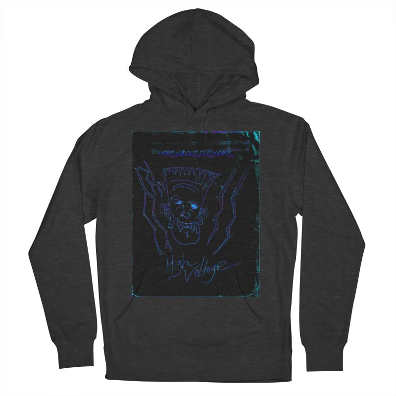 High Voltage Frank2 Men's Pullover Hoody by Monstrous Customs