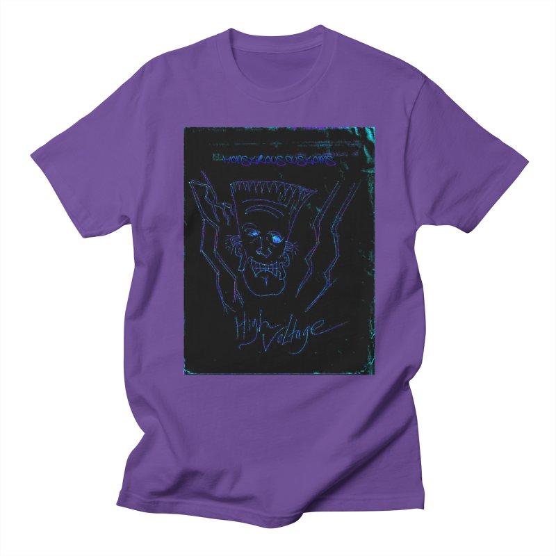 High Voltage Frank2 Women's Regular Unisex T-Shirt by Monstrous Customs