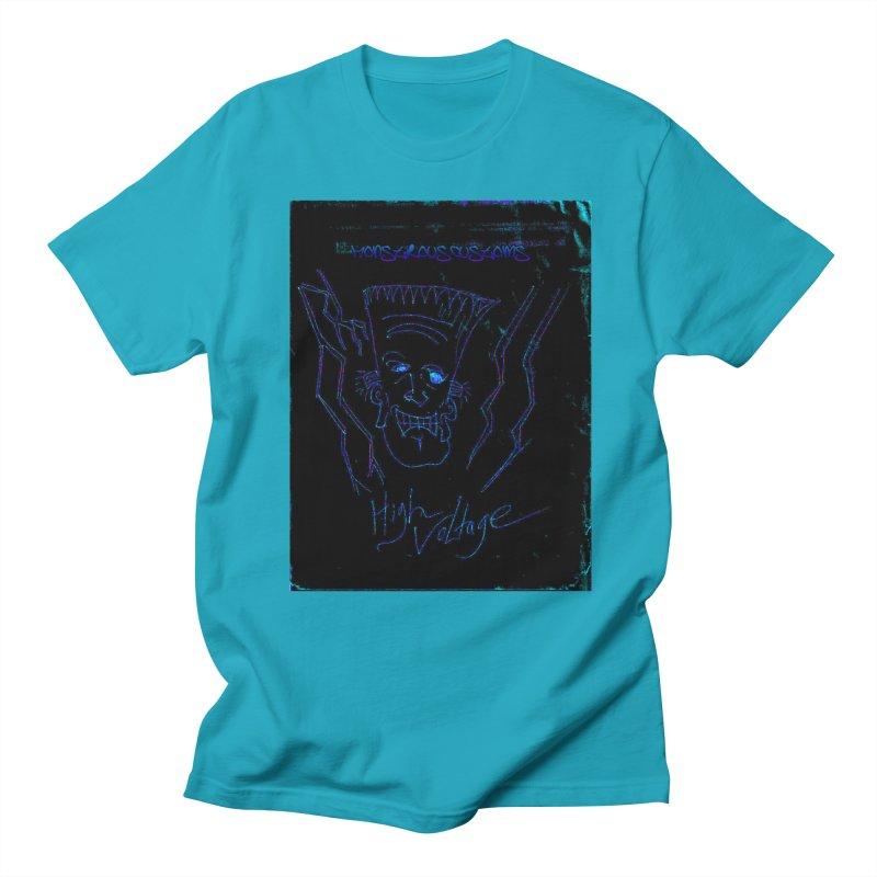 High Voltage Frank2 Women's Unisex T-Shirt by Monstrous Customs