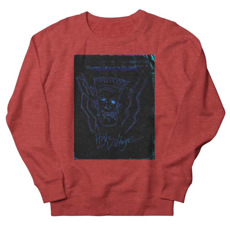 High Voltage Frank2 Men's Sweatshirt by Monstrous Customs