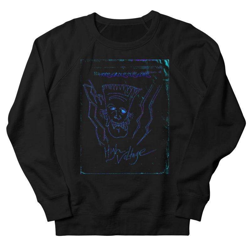High Voltage Frank2 Men's Sweatshirt by Monstrous Customs