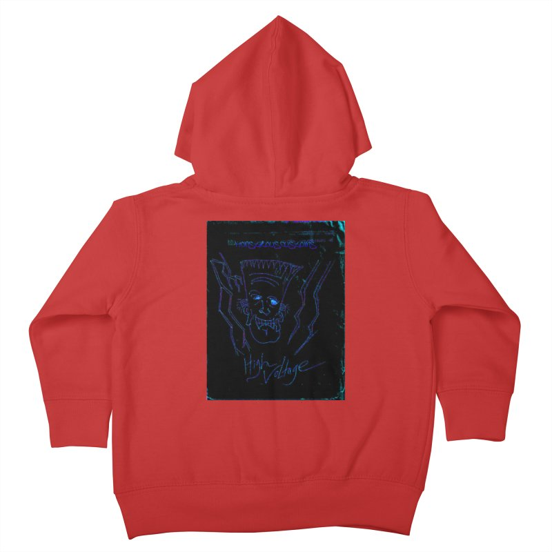 High Voltage Frank2 Kids Toddler Zip-Up Hoody by Monstrous Customs