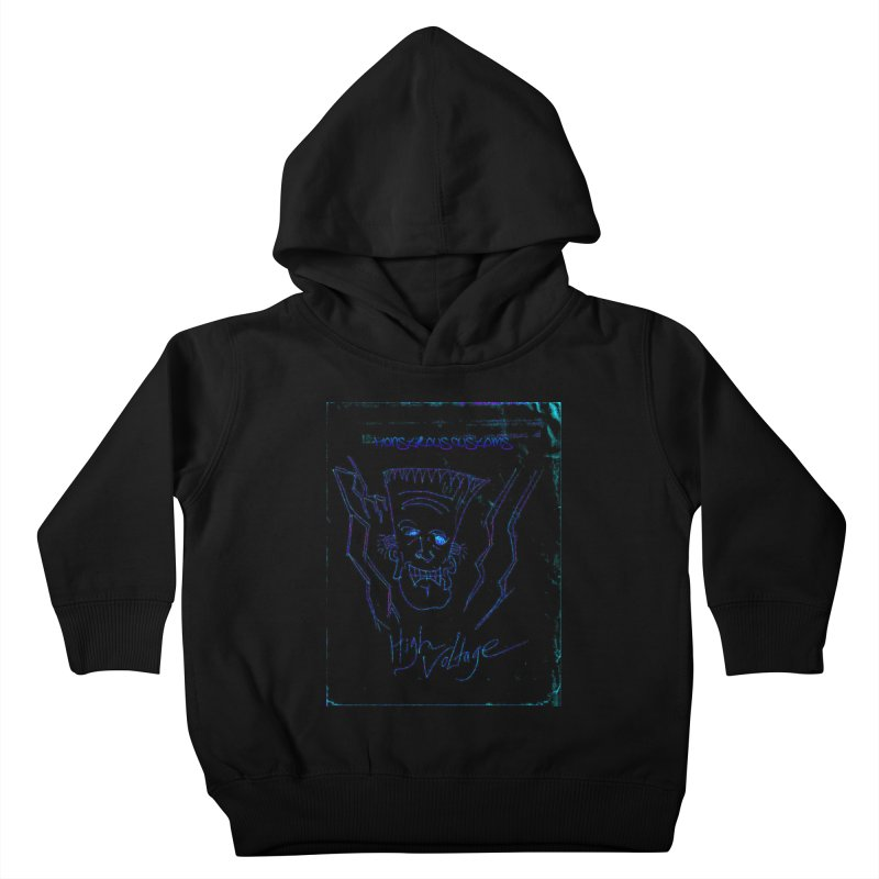 High Voltage Frank2 Kids Toddler Pullover Hoody by Monstrous Customs