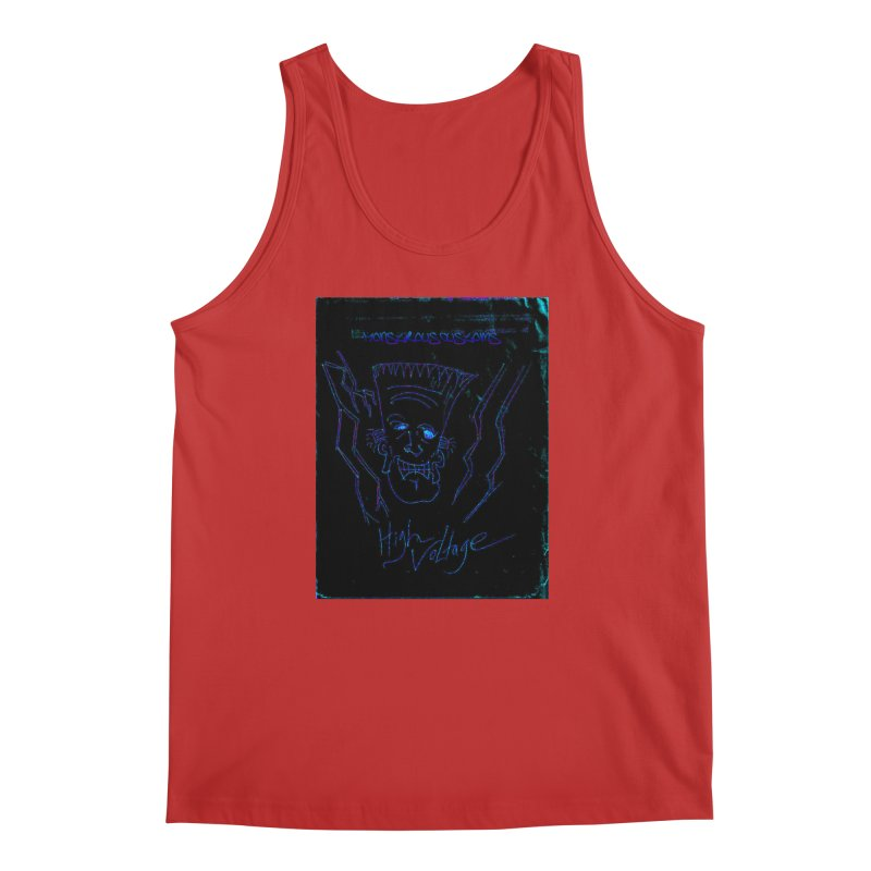 High Voltage Frank2 Men's Tank by Monstrous Customs