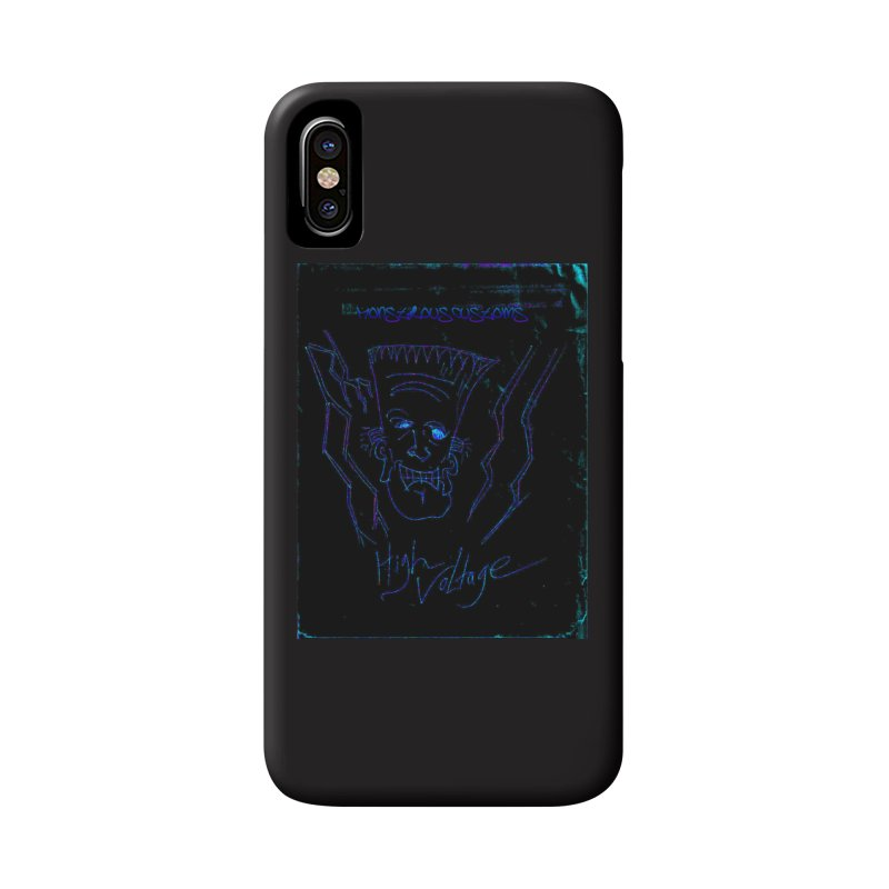 High Voltage Frank2 Accessories Phone Case by Monstrous Customs