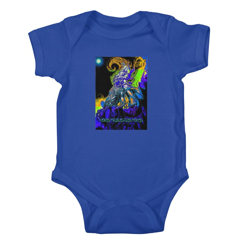 Nyarlathotep Wakes! Kids Baby Bodysuit by Monstrous Customs
