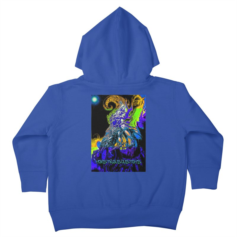 Nyarlathotep Wakes! Kids Toddler Zip-Up Hoody by Monstrous Customs