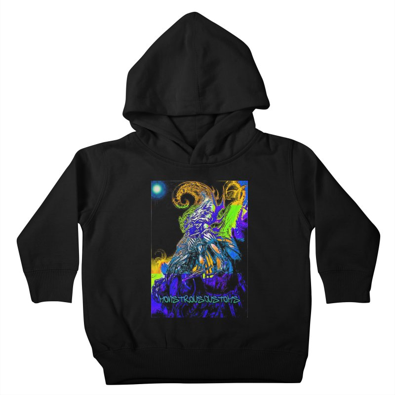 Nyarlathotep Wakes! Kids Toddler Pullover Hoody by Monstrous Customs
