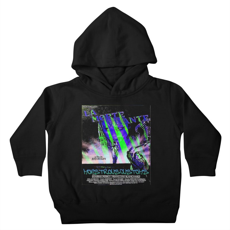Living Dead Girl Rampage Kids Toddler Pullover Hoody by Monstrous Customs