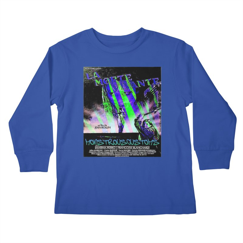 Living Dead Girl Rampage Kids Longsleeve T-Shirt by Monstrous Customs